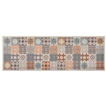 vidaXL Kuhinjski tepih sa šarenim mozaikom perivi 45 x 150 cm