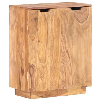 vidaXL Komoda od masivnog drva šišama 60 x 33 x 75 cm
