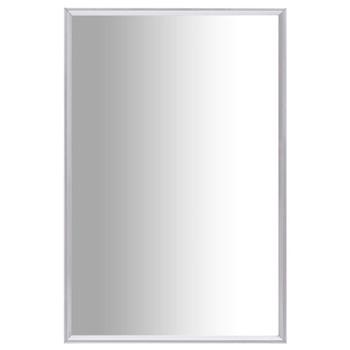 vidaXL Ogledalo srebrno 60 x 40 cm