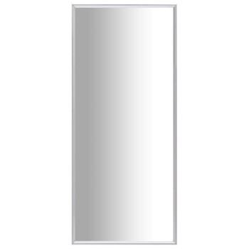vidaXL Ogledalo srebrno 140 x 60 cm