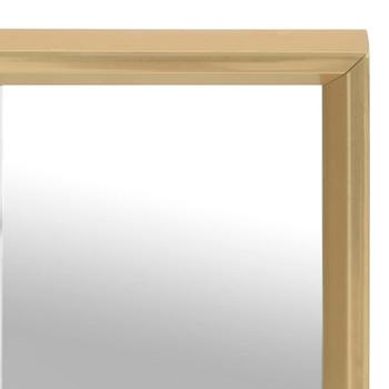 vidaXL Ogledalo zlatno 150 x 50 cm