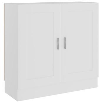 vidaXL Ormarić za knjige bijeli 82,5 x 30,5 x 80 cm od iverice