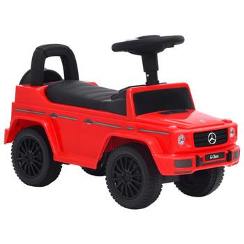 vidaXL Dječji automobil Mercedes-Benz G63 crveni