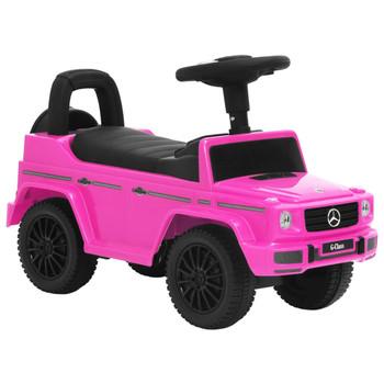 vidaXL Dječji automobil Mercedes-Benz G63 ružičasti