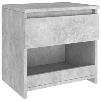 vidaXL Noćni ormarić siva boja betona 40 x 30 x 39 cm od iverice