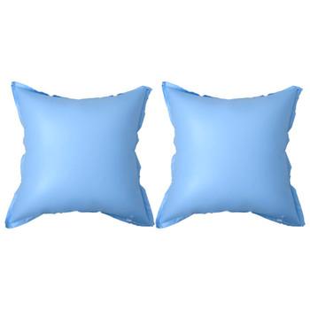 vidaXL Zimski zračni jastuci na napuhavanje za bazenski pokrov 2 kom
