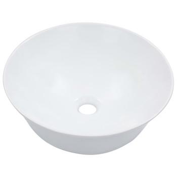 vidaXL Umivaonik 41 x 12,5 cm keramički bijeli