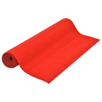 vidaXL Umjetna trava s ispupčenjima 3 x 1,33 m crvena