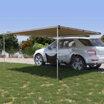 vidaXL Tenda za kamp-prikolicu i karavan 3,6 x 3 x 2,15 m bež