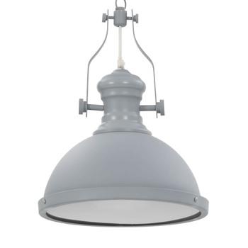 vidaXL Stropna svjetiljka siva okrugla E27