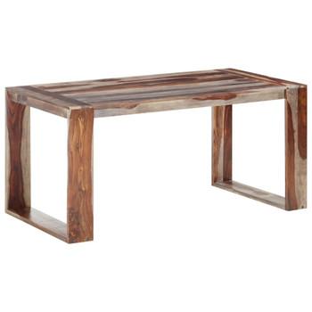 vidaXL Blagovaonski stol 160 x 80 x 76 cm od masivnog drva šišama