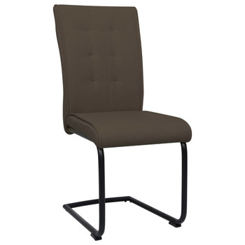 vidaXL Konzolne blagovaonske stolice od tkanine 6 kom smeđe