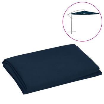 vidaXL Zamjenska tkanina za konzolni suncobran 300 cm plava
