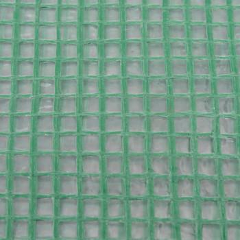 vidaXL Zamjenski pokrov za staklenik (6,5025 m²) 255x255x194 cm zeleni