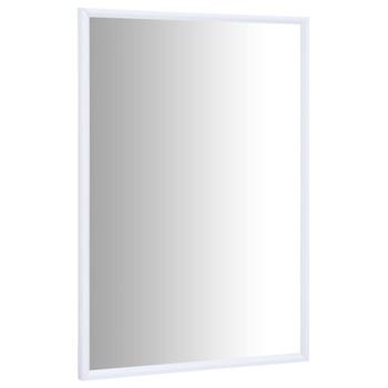 vidaXL Ogledalo bijelo 60 x 40 cm