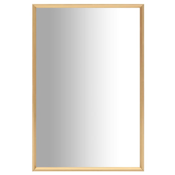 vidaXL Ogledalo zlatno 60 x 40 cm