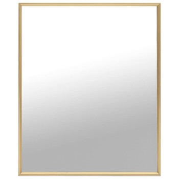 vidaXL Ogledalo zlatno 70 x 50 cm