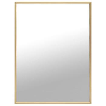 vidaXL Ogledalo zlatno 80 x 60 cm