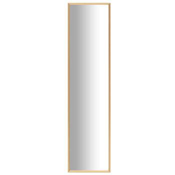 vidaXL Ogledalo zlatno 120 x 30 cm