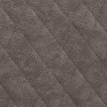 vidaXL Fotelja od umjetne kože tamnosiva