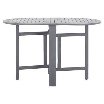 vidaXL Vrtni stol sivi 120 x 70 x 74 cm od masivnog bagremovog drva