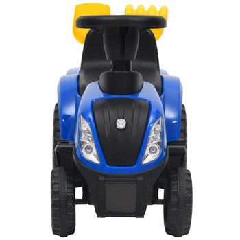 vidaXL Dječji traktor New Holland plavi