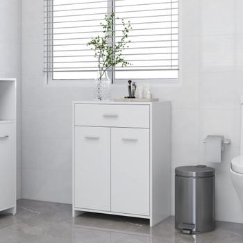 vidaXL Kupaonski ormarić bijeli 60 x 33 x 80 cm od iverice
