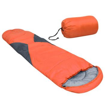 vidaXL Vreća za spavanje narančasta 5 ℃ 1400 g