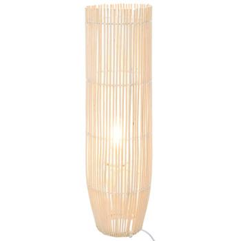 vidaXL Stojeća podna svjetiljka od vrbe bijela 61 cm E27