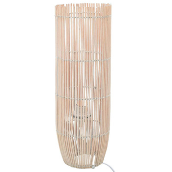 vidaXL Stojeća podna svjetiljka od vrbe bijela 72 cm E27