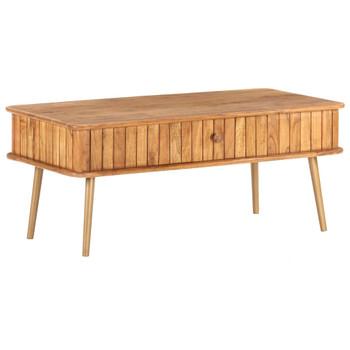 vidaXL Stolić za kavu 100 x 50 x 40 cm od masivnog bagremovog drva