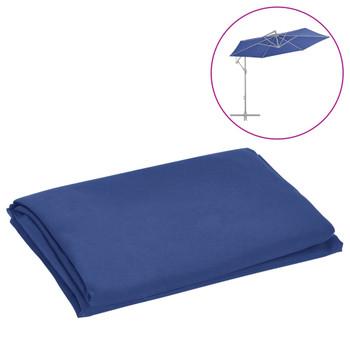 vidaXL Zamjenska tkanina za konzolni suncobran 300 cm azurna
