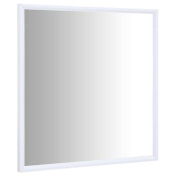 vidaXL Ogledalo bijelo 40 x 40 cm
