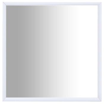 vidaXL Ogledalo bijelo 70 x 70 cm
