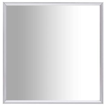 vidaXL Ogledalo srebrno 40 x 40 cm