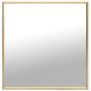 vidaXL Ogledalo zlatno 60 x 60 cm