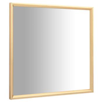 vidaXL Ogledalo zlatno 70 x 70 cm