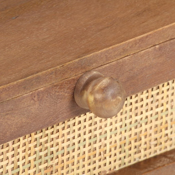 vidaXL Stolić za kavu 100 x 60 x 40 cm od masivnog drva manga