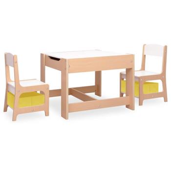 vidaXL Dječji stolić s 2 stolice MDF