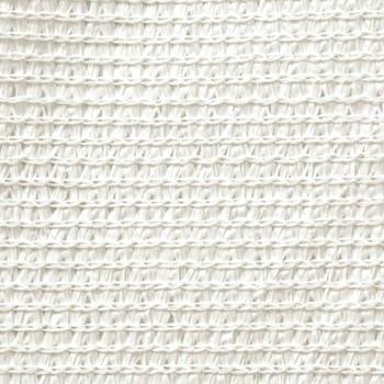 vidaXL Jedro za zaštitu od sunca 160 g/m² bijelo 6 x 7 m HDPE