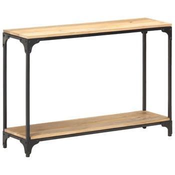 vidaXL Konzolni stol 110 x 30 x 75 cm od masivnog drva manga