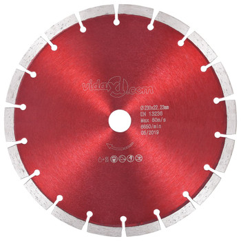 vidaXL Dijamantni disk za rezanje čelični 230 mm