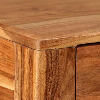 vidaXL Konzolni stol od masivnog drva 118 x 30 x 80 cm