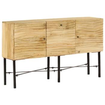 vidaXL Komoda od masivnog drva manga 118 x 30 x 70 cm