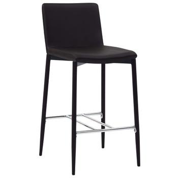 vidaXL Barski stolci od umjetne kože 6 kom smeđi