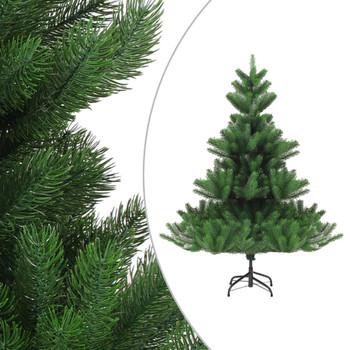 vidaXL Umjetno božićno drvce kavkaska jela LED svjetla zeleno 120 cm