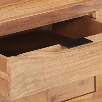 vidaXL Radni stol 110 x 50 x 75 cm od masivnog bagremovog drva