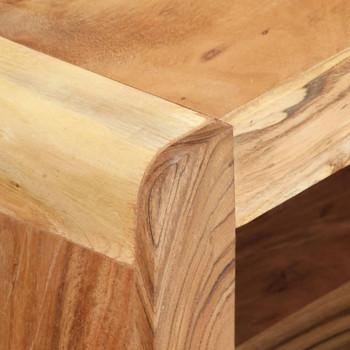 vidaXL 2-dijelni TV ormarić od masivnog bagremovog drva