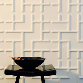 WallArt 3D zidni paneli Tetris 12 kom GA-WA16