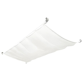 vidaXL Vrtna Tenda/Jedro Komplet od Oksford Tkanine 140x420 cm